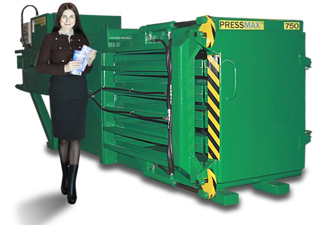 Прессы для макулатуры горизонтальныеPRESSMAX™ 750