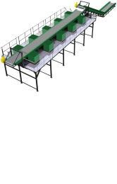 Сортировочный комплекс для сортировки мусора и отходов МСС-50000